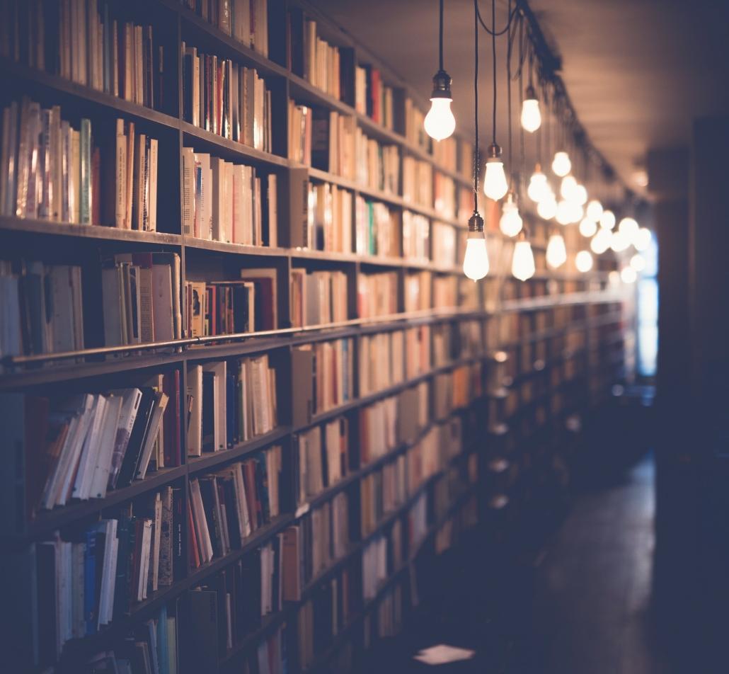 Dementia bookshelf