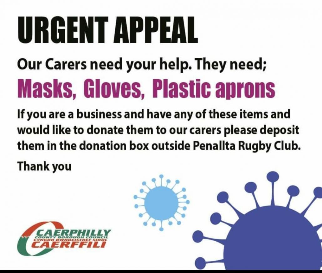 Masks, gloves, aprons